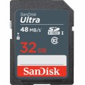 SANDISK ULTRA SDHC 32GB ULTRA CLASS 10 UHS-1 48/10 MB/s