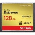 SANDISK COMPACT FLASH 128 GB EXTREME 120/85 MB/S