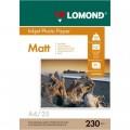LOMOND IJ A4 МАТОВАЯ 230Г/М2 25 Л. (0102050)