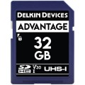 DELKIN DEVICES ADVANTAGE SDHC 32GB 633X UHS-I CLASS 10 V30 [DDSDW63332GB]