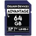DELKIN DEVICES ADVANTAGE SDHC 64GB 633X UHS-I CLASS 10 V30 [DDSDW63364GB]