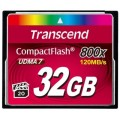 TRANSCEND COMPACT FLASH 32 GB 800X 120/40 Mb/s (TS32GCF800)