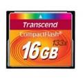 TRANSCEND COMPACT FLASH 16 GB 133X RETAIL (TS16GCF133)
