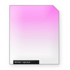 B&R 84,5 MM CLASSIC LINE LIGHT PINK ГРАДИЕНТНЫЙ СВЕТОФИЛЬТР