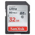 SANDISK ULTRA SDHC 32GB CLASS 10 UHS-1 80/10 MB/s