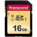 TRANSCEND SECURE DIGITAL 16GB 500S SDHC UHS-1 U1 95/60 Mb/s TS16GSDC500S