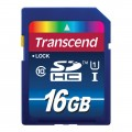 TRANSCEND SECURE DIGITAL 16GB CLASS 10 UHS-1 SDU1 (TS16GSDU1)